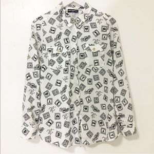 Karl Lagerfeld Tops - Used/ KARLLAGERFELD print shirts